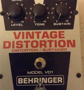 Behringer Vintage Distortion VD 1