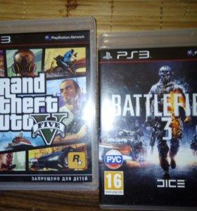 Продам сони пс 3 в комплекте 10 игр, два геймпада
