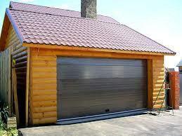Удобные ворота для гаража