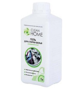 Clean Home гель для стирки белья, 1 л.🍀