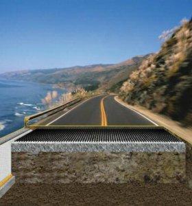 Сетка для строительства дорог