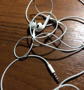 Apple EarPods наушники