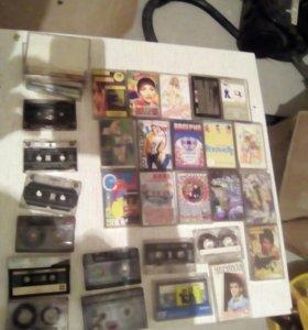 Коллекция аудиокассет