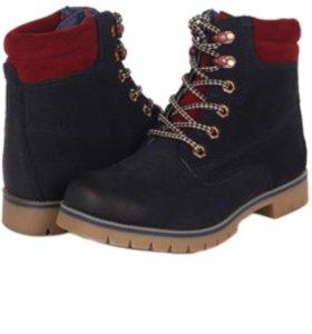 Новые Кожаные ботинки женские 38