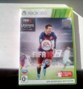 Фифа 16 лицензия. Xbox 360