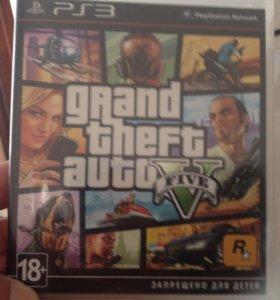 Диск PS3 GTA 5. Новый.