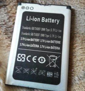 Аккамулятор батарейка Li-ion на телефон Китай