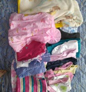 Пакет вещей для девочки 1—2,5 года