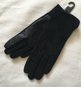 Перчатки натуральная замша