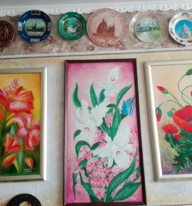 Картины маслом и акварелью