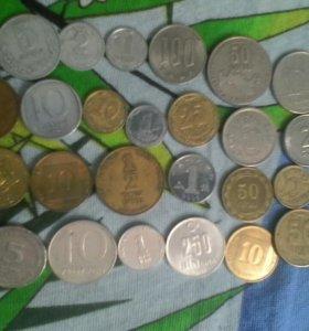 Заграничные монеты