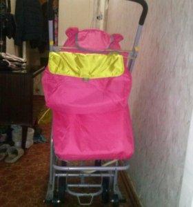 Санки-коляска ника 7