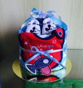Тортик на выписку или день рождение