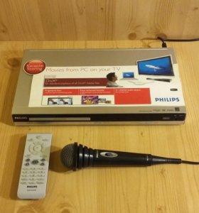 DVD-плеер с караоке Philips DVP3148K