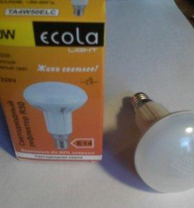 Лампа диодная (теплый свет)