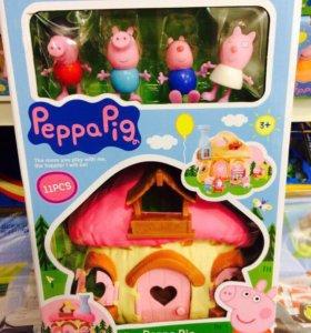 Домик свинка Пеппи