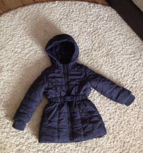 Курточка утеплённая на холодную осень/зиму