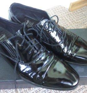Туфли кожаные 44 размер