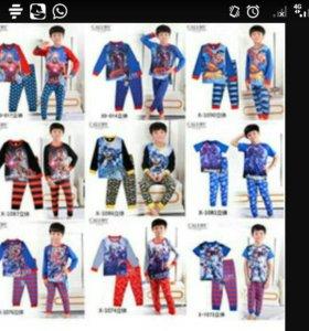 Пижама для мальчиков и девочек от 2до 7лет дисней