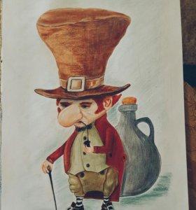Рисунок (акварельные карандаши)