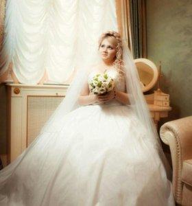 Свадебное платье 48-50.срочно.