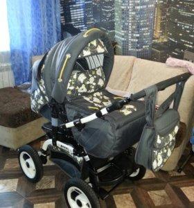 Продам детскую коляску-трансформер зима-лето