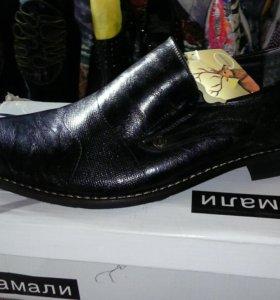 муж. туфли распродаю остатки товара