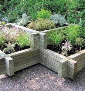Оформление садового,дачного участка!дачный декор