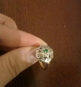 Пррдам брильянтовое кольцо