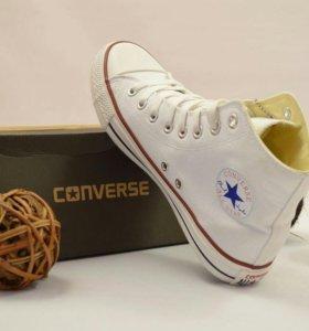Нереальные Converse All Star Core High Top White M