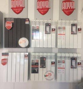 Алюминиевые и биметаллические радиаторы.