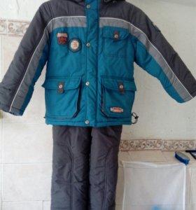 Зимний костюм на мальчика.