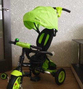 Новый трехколёсный велосипед.