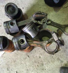 Поршень с шатуно Mersedes actros с двигателя OM501