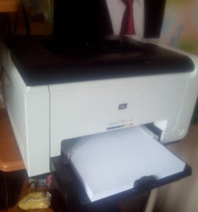 Лазерный цветной принтер HP LaserJet CP1025