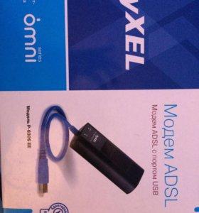 Продам ADSL модем ZyXel
