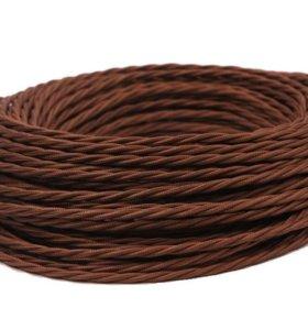 Витые провода (ретро-проводка) для дома