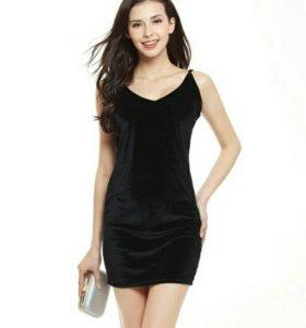 Новое платье, велюр 42-48