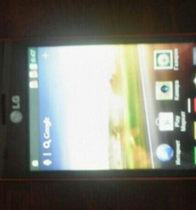 Телефон LG + зарядное