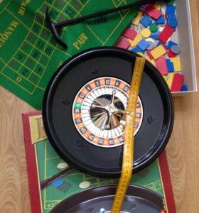 Игра для детей и взрослых рулетка