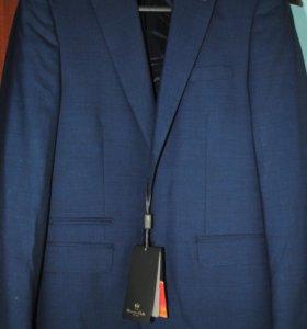 Пиджак мужской Massimo dutti синий