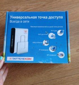 Wi-Fi роутер фирмы ТАТТЕЛЕКОМ