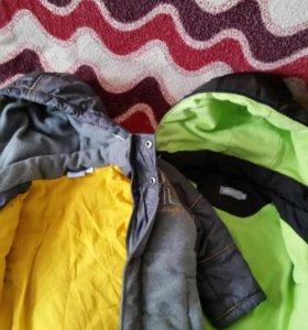 Куртки осенний