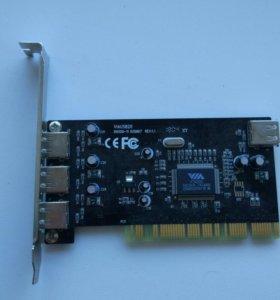 PCI USB 2.0 контроллер