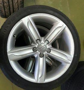 Оригинальные колеса на Audi ТТ