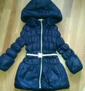 Куртка-пальто на флисе