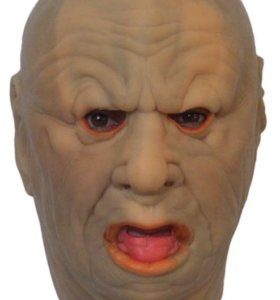 Толстяк маска латексная ЛЮКС