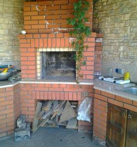 Изготовлю печи.камины барбекю и все отремонтирую .