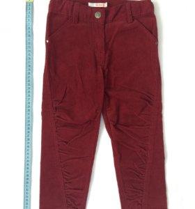 Новые вельветовые брюки, рост 98-104 см