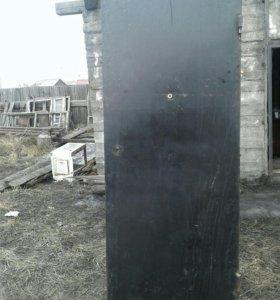 Железная дверь входная утопленная